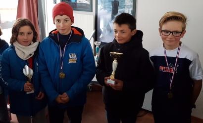 Jules VIDOR médaille d'or, Pierre FAVREL médaille d'argent